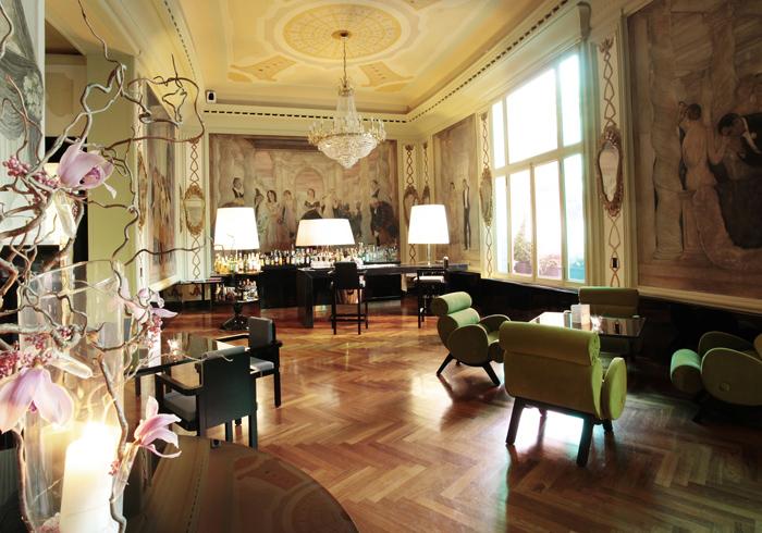 История и современность в Boscolo Palace Roma (Италия)