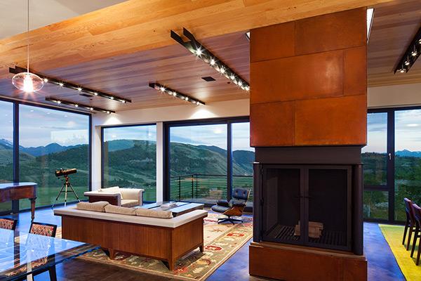 Резиденция на склоне холма от Stephen Dynia Architects