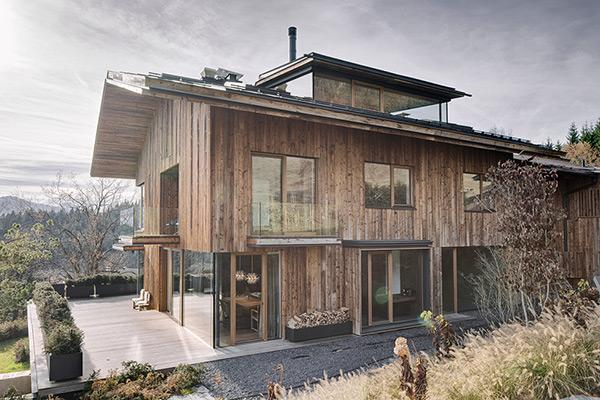 Дом для отдыха в австрийской глубинке
