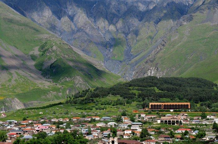 Дизайн отель в горах Грузии