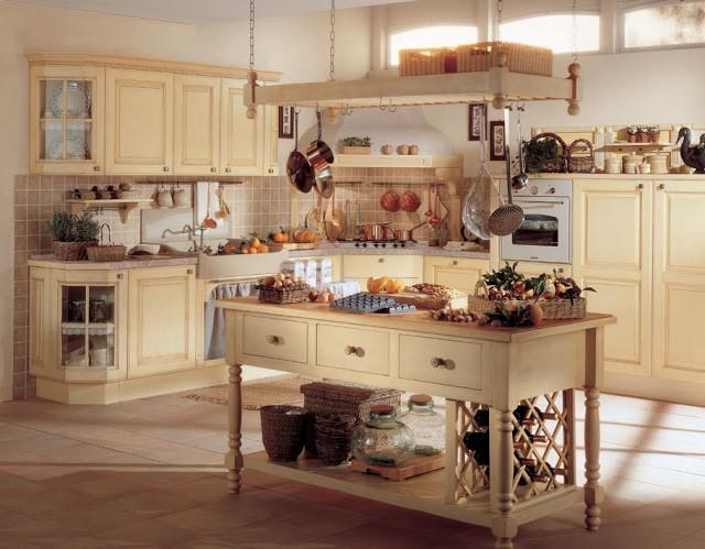 Прованс  Прованский колорит в интерьере кухни