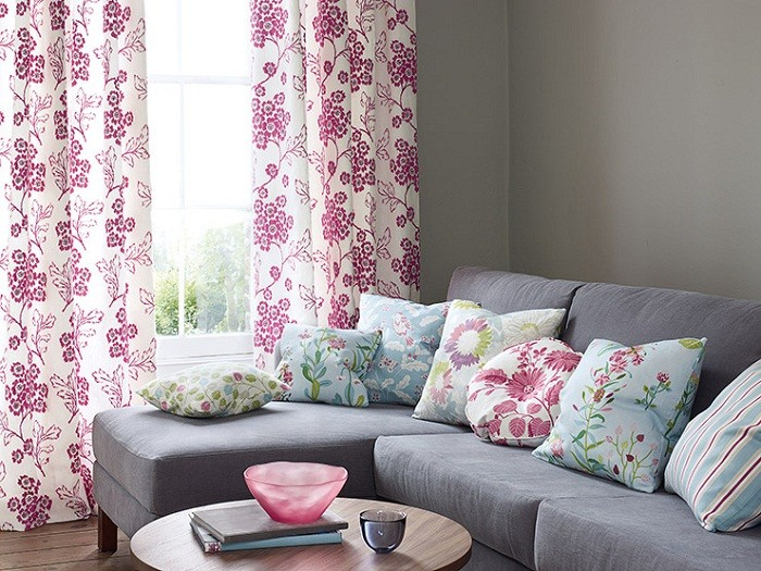 Красочный текстиль от JANE CHURCHILL