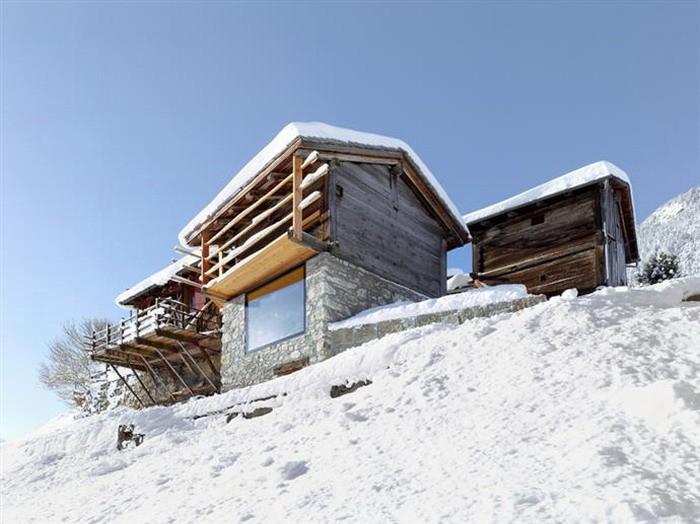 Стильный домик в Альпах
