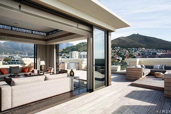 Роскошный интерьер пентхауса. Кейптаун