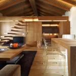 Деревянные апартаменты в Италии