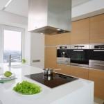 Минимализм Белый  Кухни с белыми глянцевыми фасадами