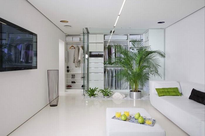Минимализм Белый  Минималистский дизайн квартиры
