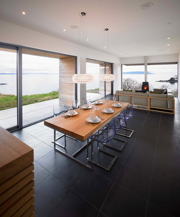 Дом на побережье в Шотландии