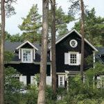 Лесной домик в Швеции