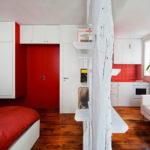 Маленькая квартира в Париже, интерьер