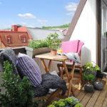Оформление открытого балкона: 9 интересных вариантов