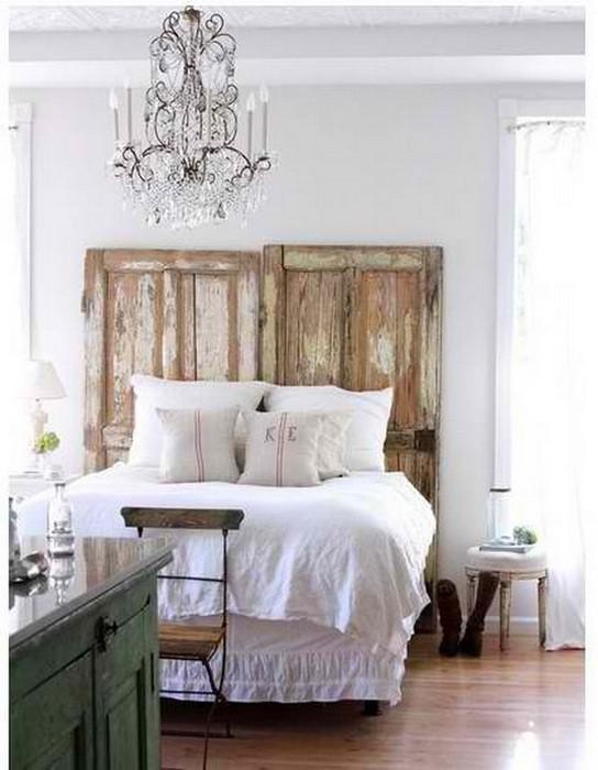 Изголовья кровати   просто и оригинально