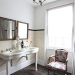 Ванные комнаты в винтажном стиле