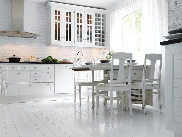 Белый  Белая кухня