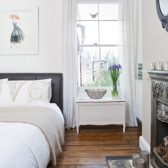 Белый  Белый в спальне