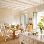 Интерьер кухни в средиземноморском  стиле