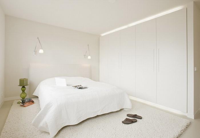 Минимализм Белый  Элегантная квартира в Амстердаме