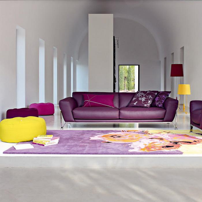 Фиолетовый  Фиолетовый цвет в детской