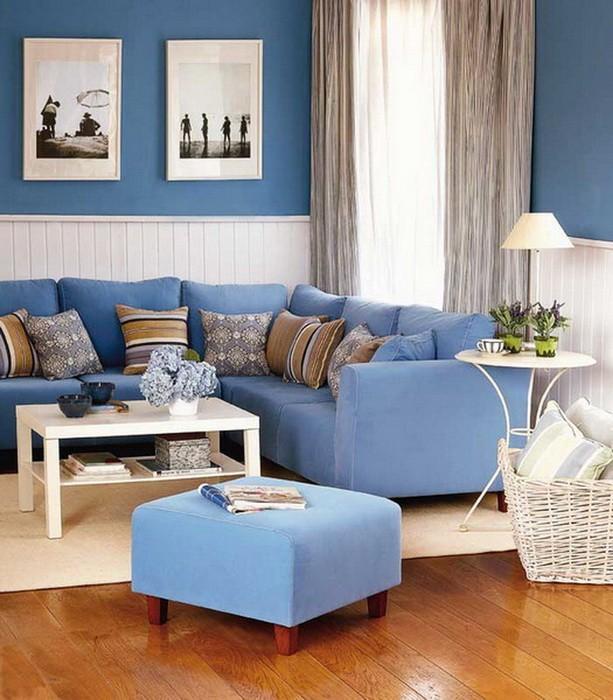Гостиная в синих цветах_09