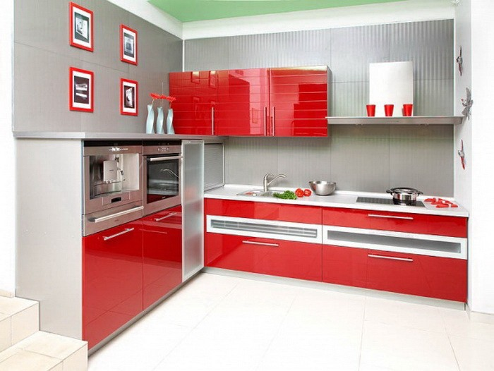 Красный  Красная кухня
