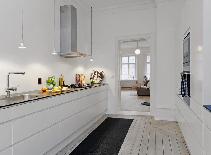 Скандинавский стиль  Кухни в скандинавском стиле