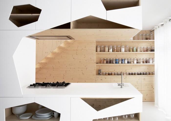 Белый  Квартира от компании i29 Architects