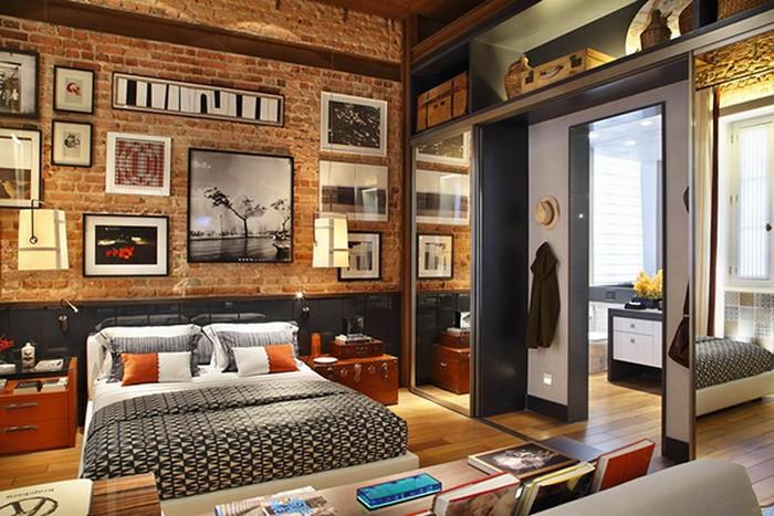 Квартира в стиле 70 х