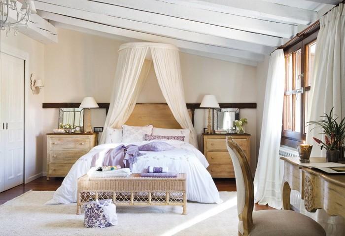 Нежные спальни