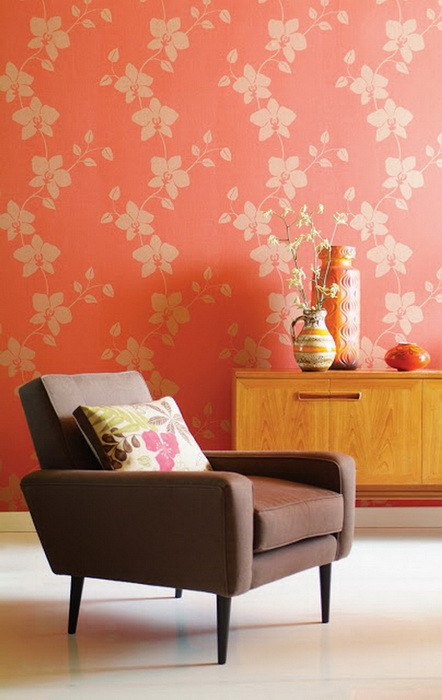 Оранжевой цвет в гостиной_07