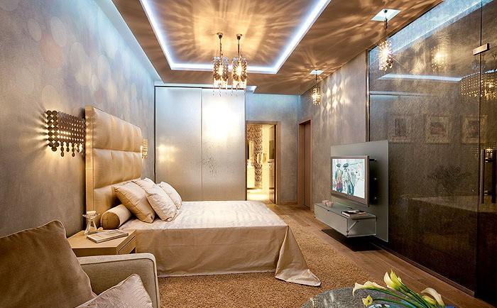 Спальня в коричневых тонах_10