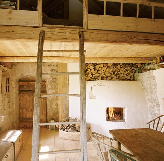 Старинный домик