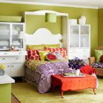 Яркие идеи для интерьера спальни
