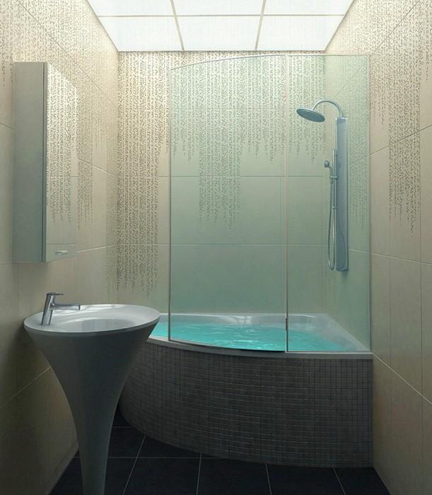 Ванна в стиле минимализм_08