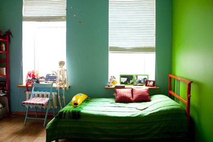 Яркий  Яркая квартира
