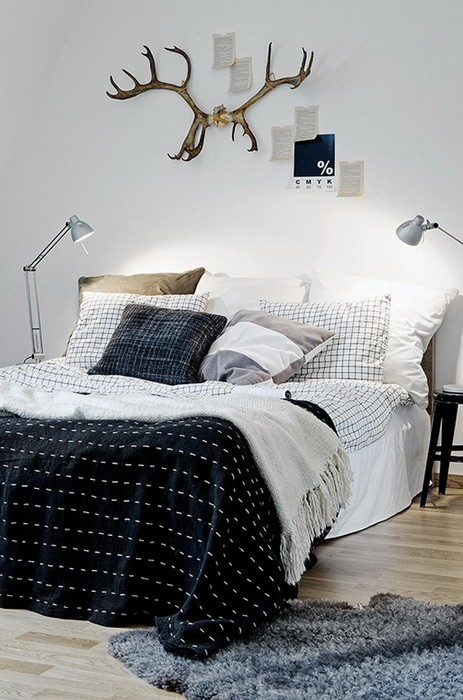 Cмешение стилей в спальне