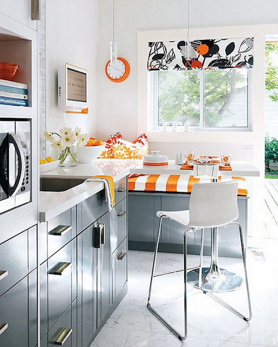 Маленькая  Дизайн маленькой кухни
