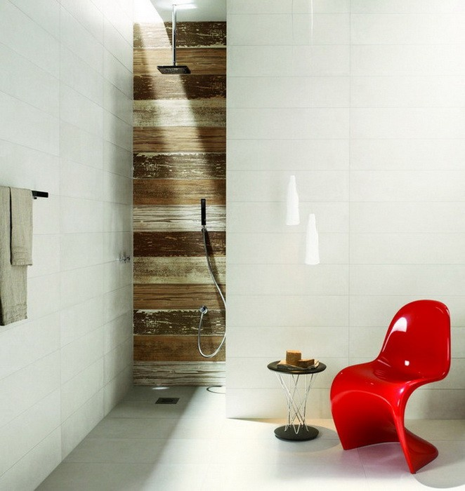 Ceramic tiles bathroom