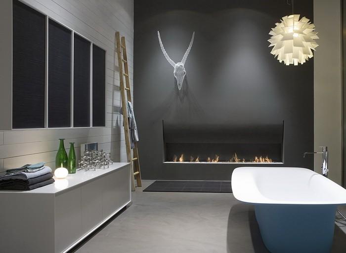 Эклектика  Эклектика в ванной комнате