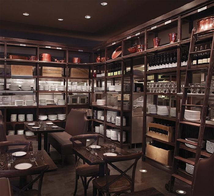 Интерьеры ресторанов быстрого обслуживания