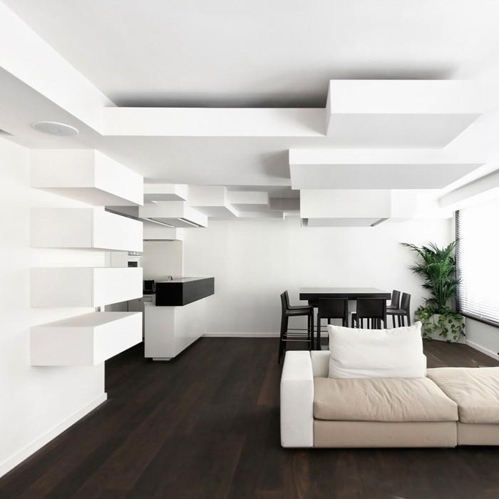 Белый  Квартира от Pascal Grasso