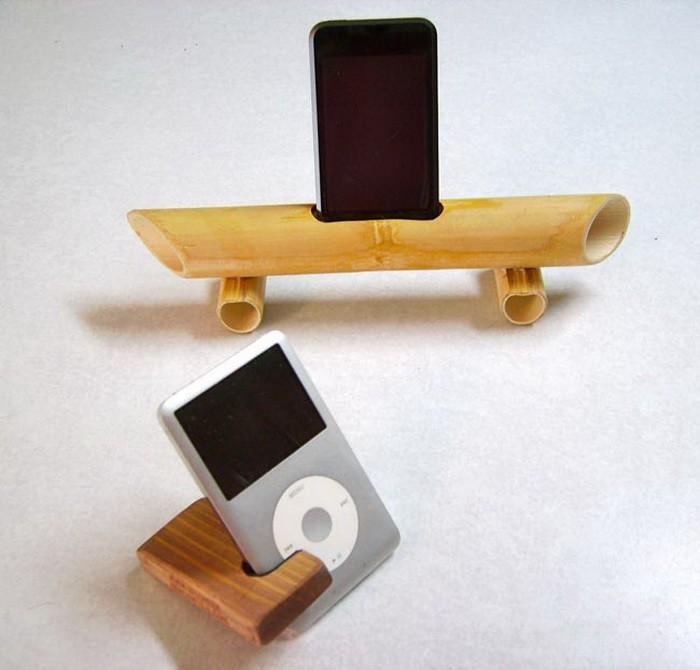 Подставка для iPhone или iPod из бамбука_03