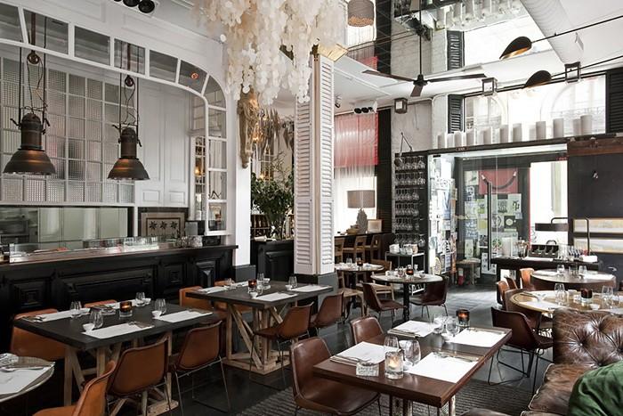 Ресторан в Барселоне, дизайн и интерьер