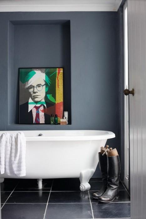 Поп арт  Туалетные комнаты в стиле поп арт