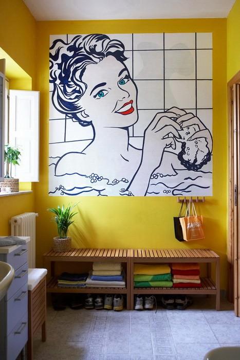 Туалетные комнаты в стиле поп-арт_09