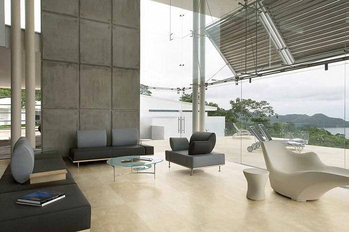 Декоративный бетон в интерьере