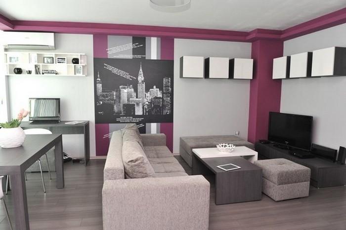 Небольшая квартира с уникальными графическими элементами_09