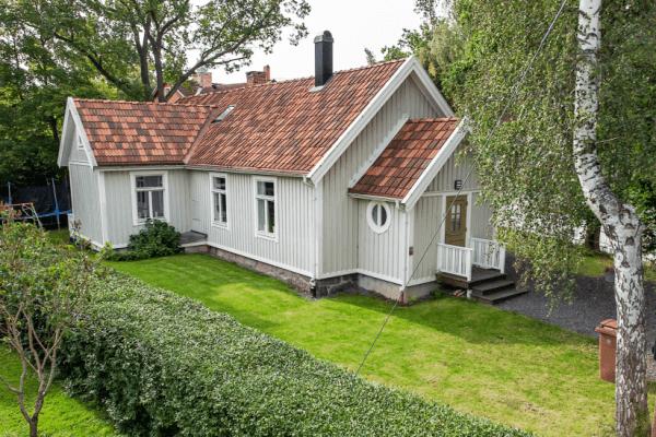 Очаровательный шведский дом