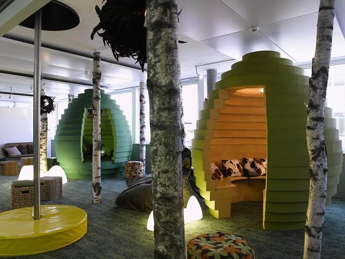 Офис на природе