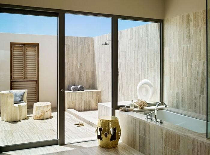 Ванная с двориком для SPA_09