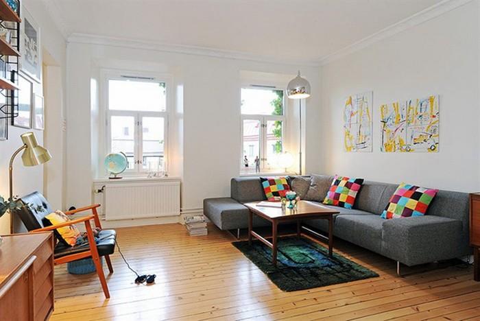 10 очаровательных гостиных в скандинавском стиле
